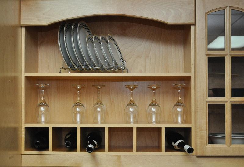 Armoires en bois rable armoires super prix 514 for Armoire de cuisine a bon prix