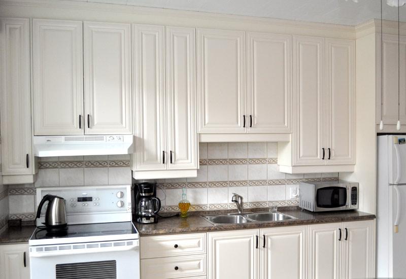 Armoire en thermoplastique de couleur ivoire armoires for Armoire de cuisine prix